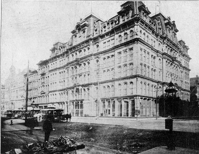 1880s Photograph of Marshall Field's